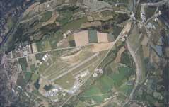 L'aérodrome vue des airs