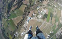 Le centre de saut de tallard vu des airs