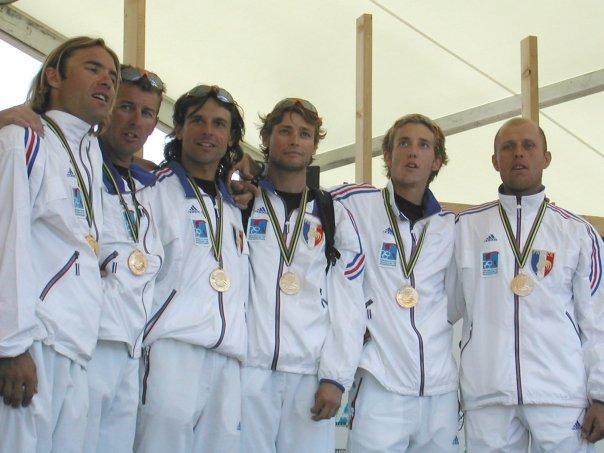 Podium mondial 2003
